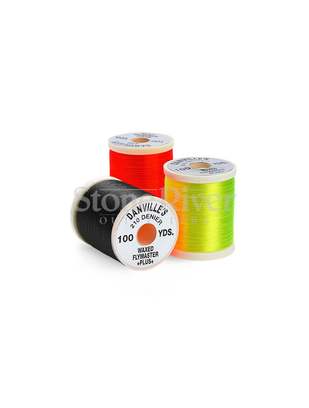 DANVILLE FLYMASTER PLUS 210  WAXED THREAD -OLIVE