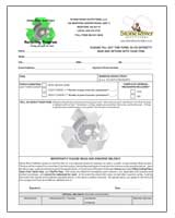 SRO Recycling Program Consignment Form