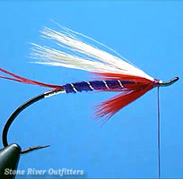 Step 10 - Tying the Hairwing Del Cooper