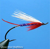 Step 11 - Tying the Hairwing Del Cooper